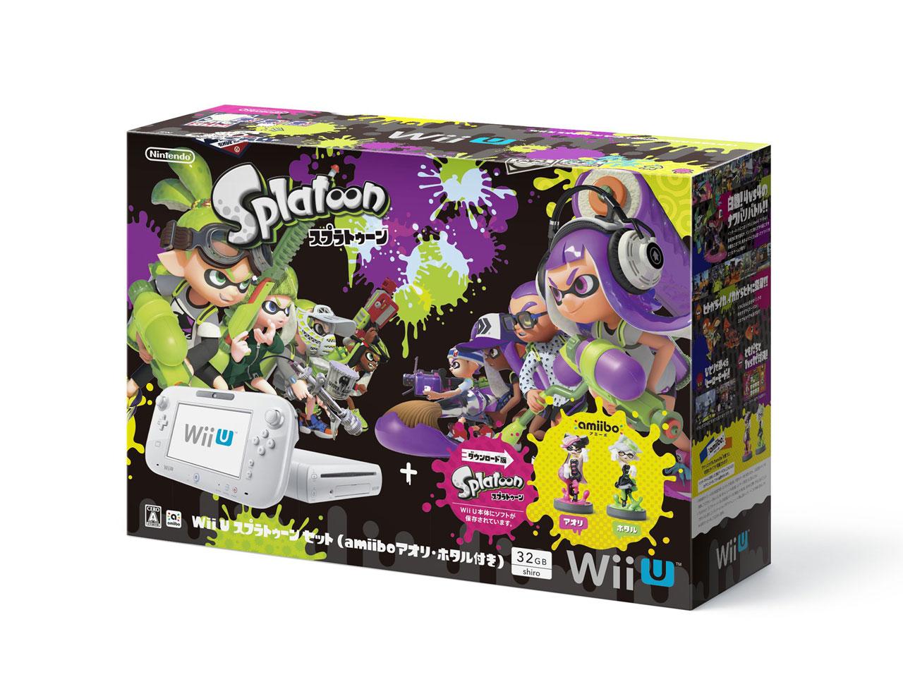 Wii U スプラトゥーン セットの画像