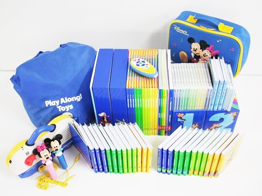 2012年ディズニー英語システムミッキーパッケージフルセットの画像
