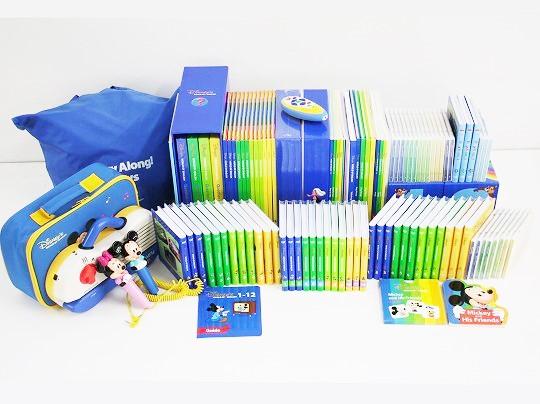 2013年ディズニー英語システムミッキーパッケージフルセットの画像