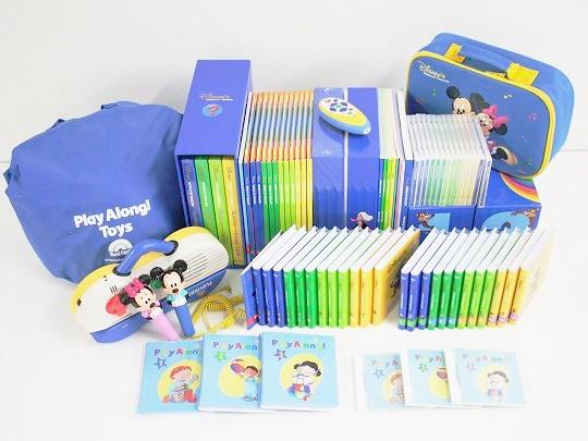 2015年ディズニー英語システムミッキーパッケージフルセットの画像